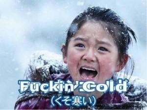 ファッキンコールドくそ寒いおしん2